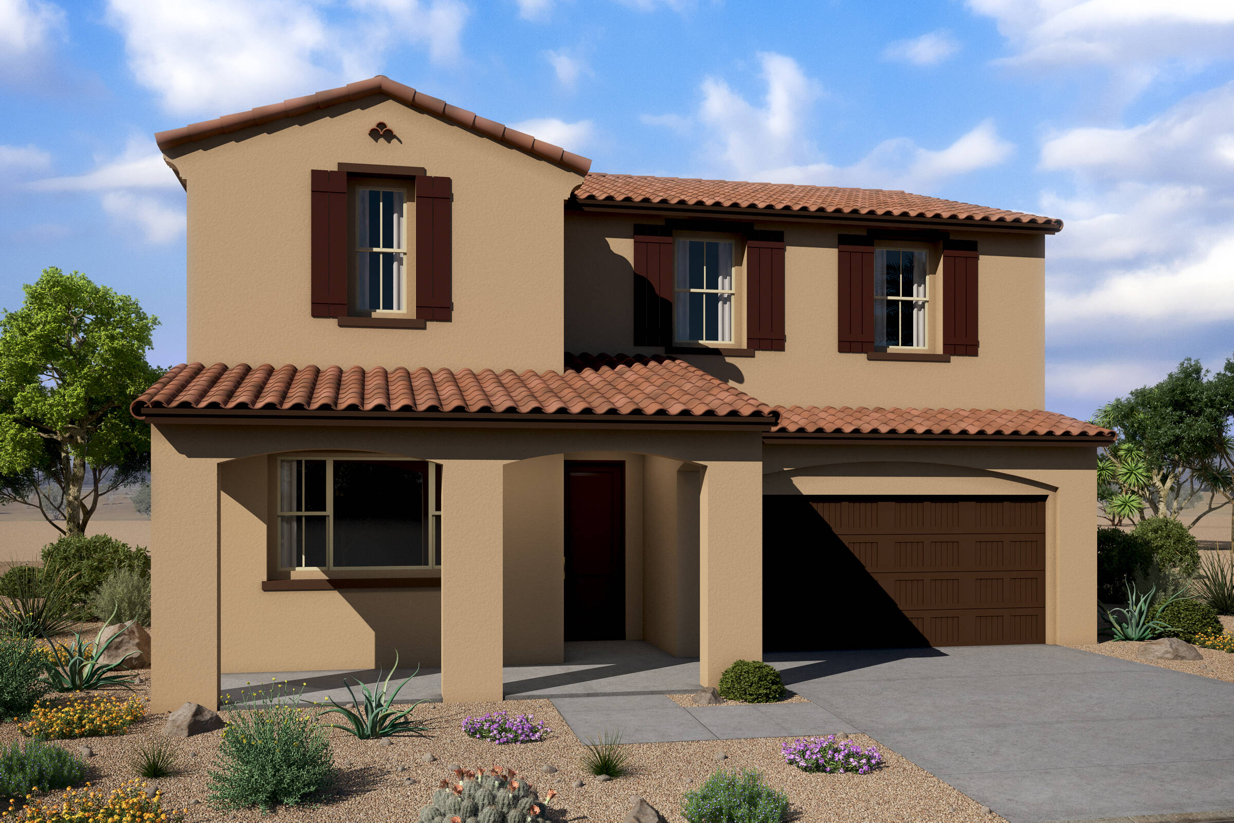 harmony spanish colonial a new homes affinity at verrado