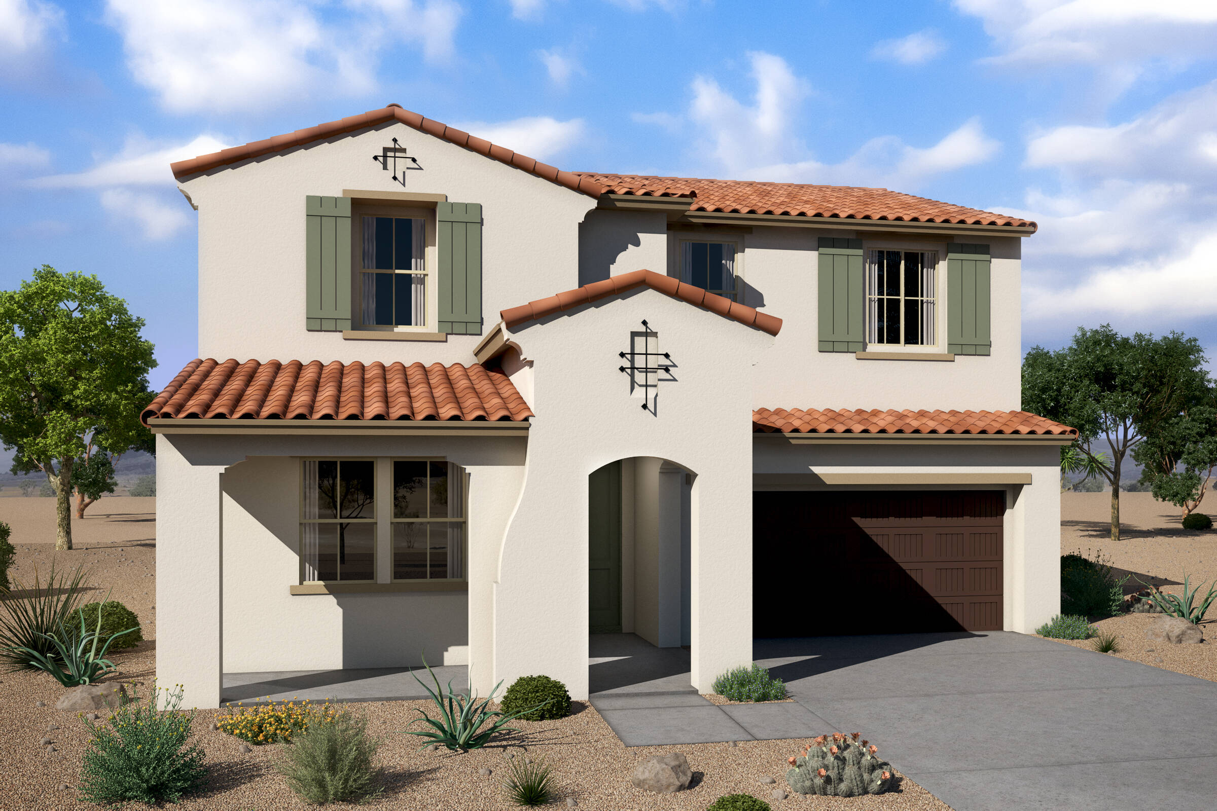 repose spanish colonial a new homes affinity at verrado