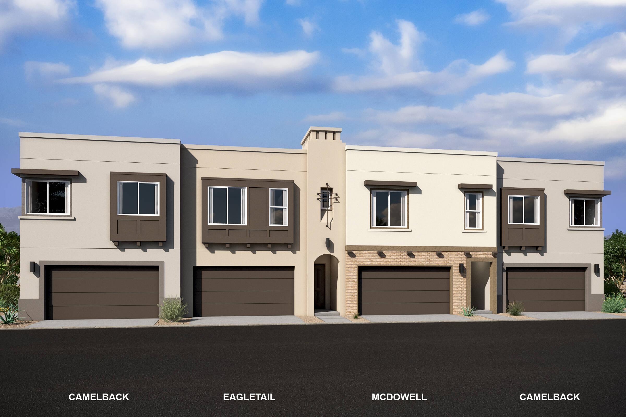 pinnacle at silverstone new scottsdale townhomes 4 plex