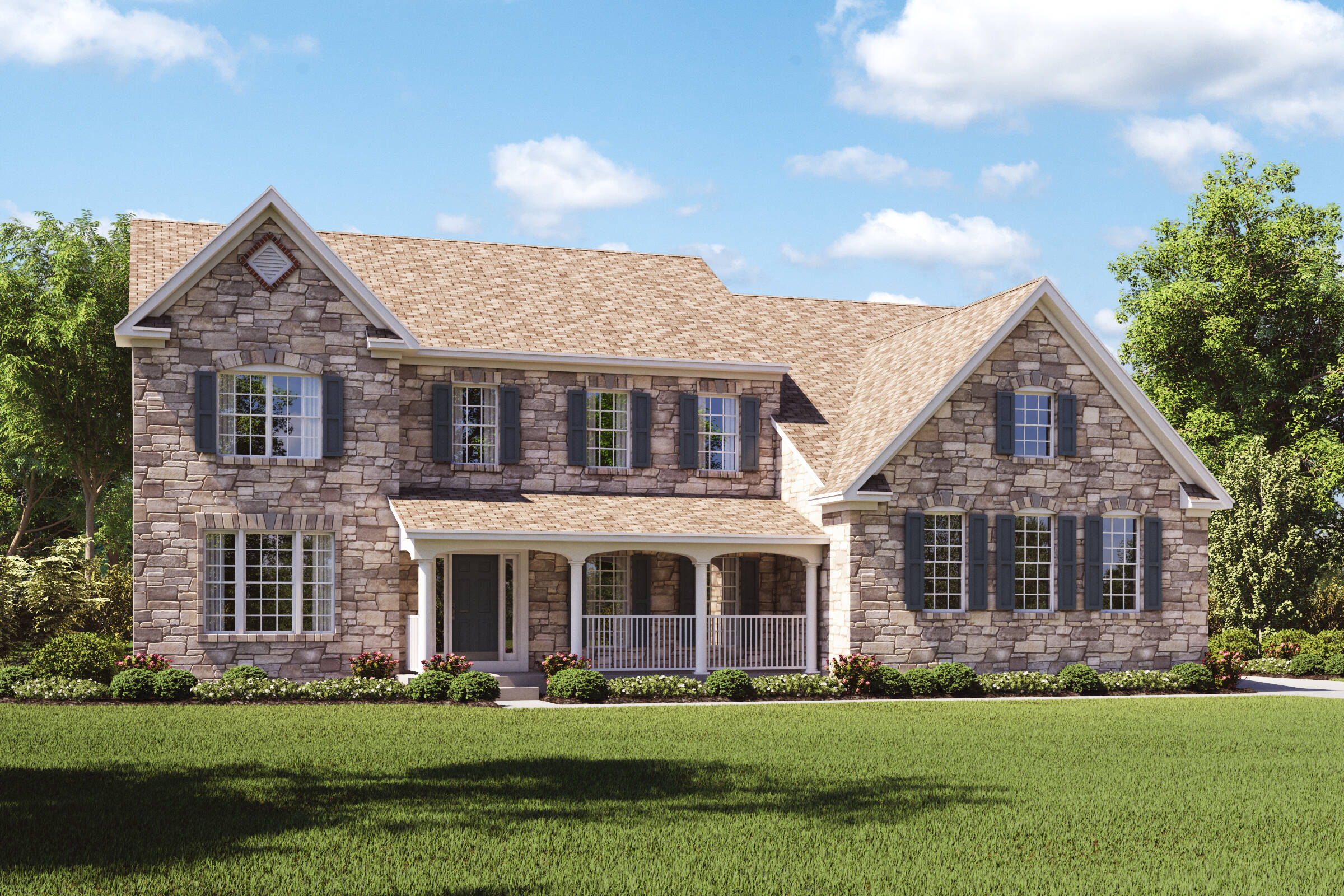 rhode island country new homes at estates at cedar lane