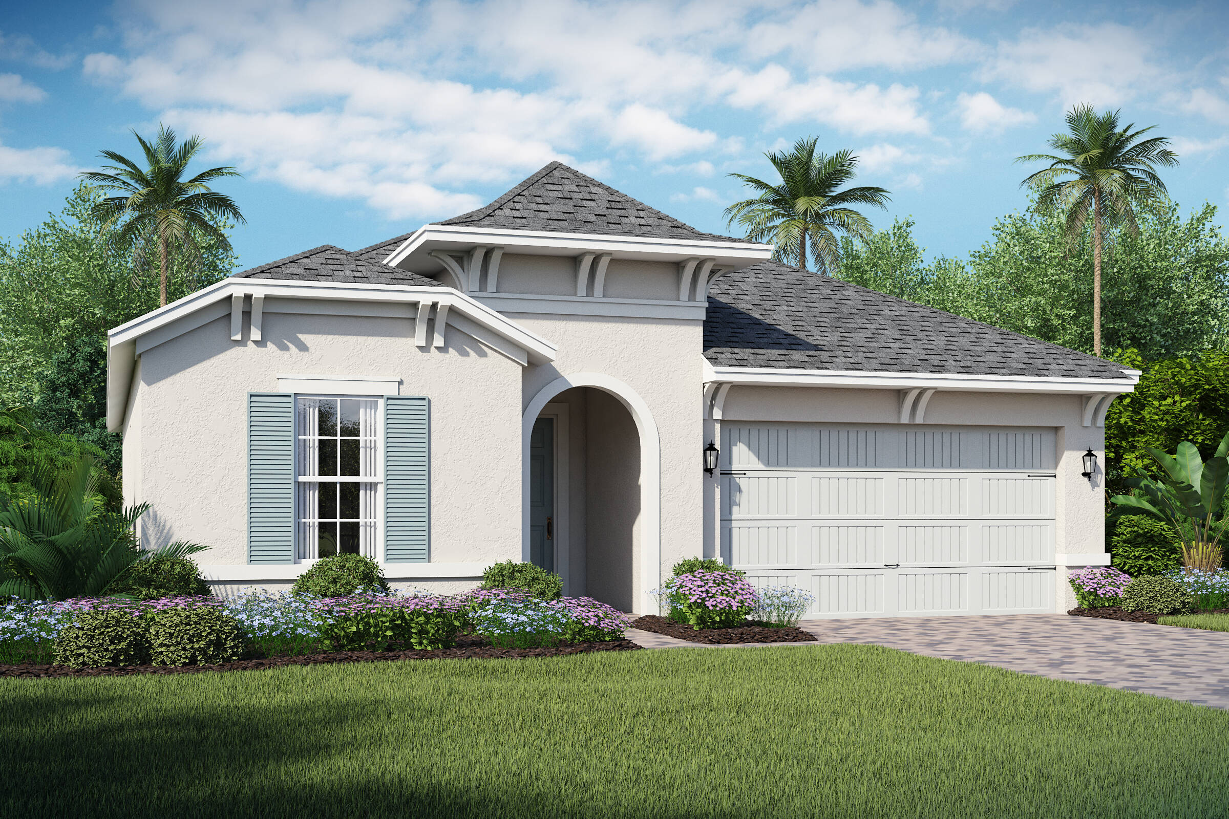 San Andres-B-elev new homes in orlando