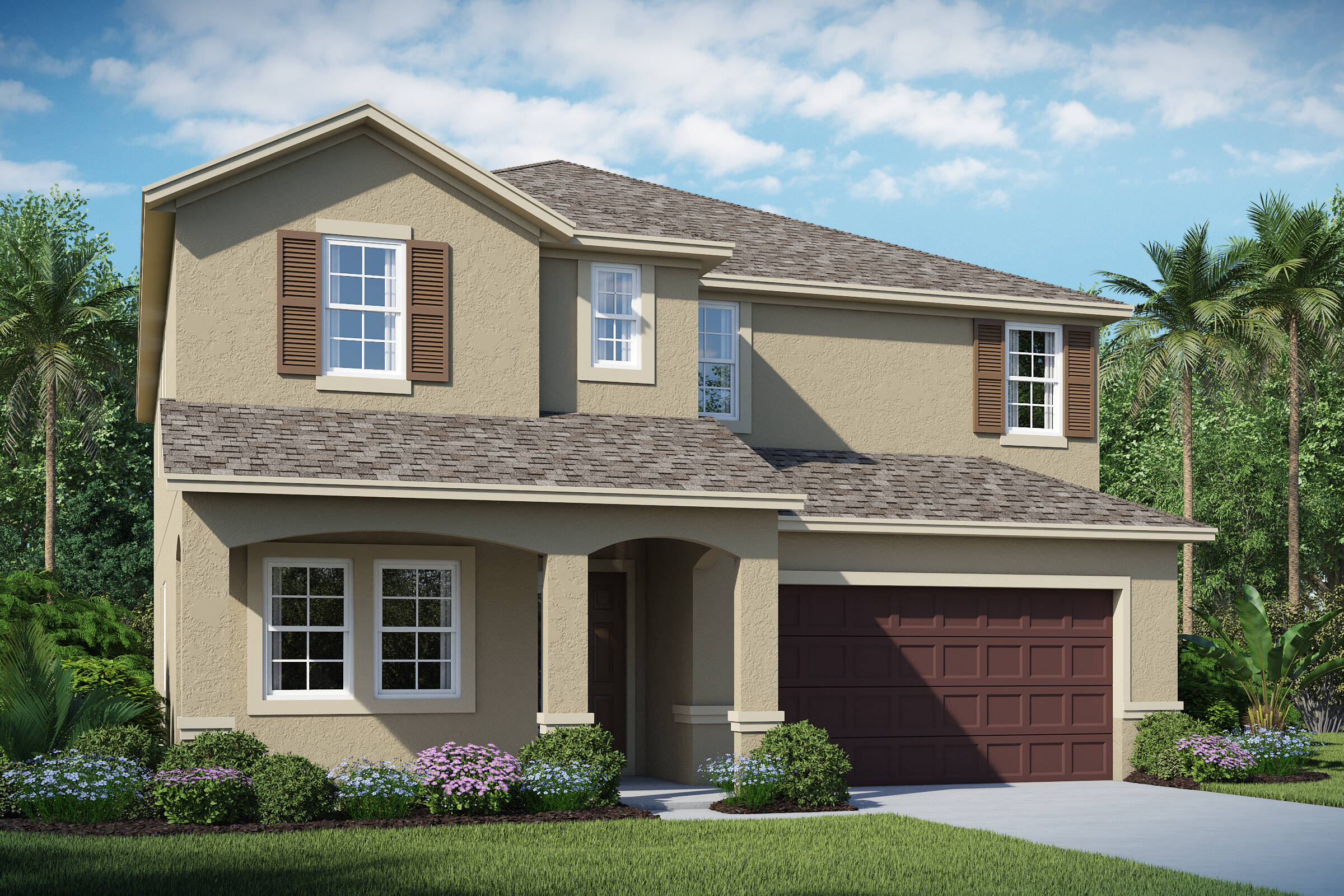 Michelson B elev new homes in orlando florida