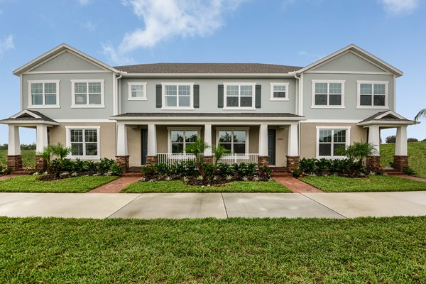 The Highlands At Summerlake Groves Townhomes New Homes