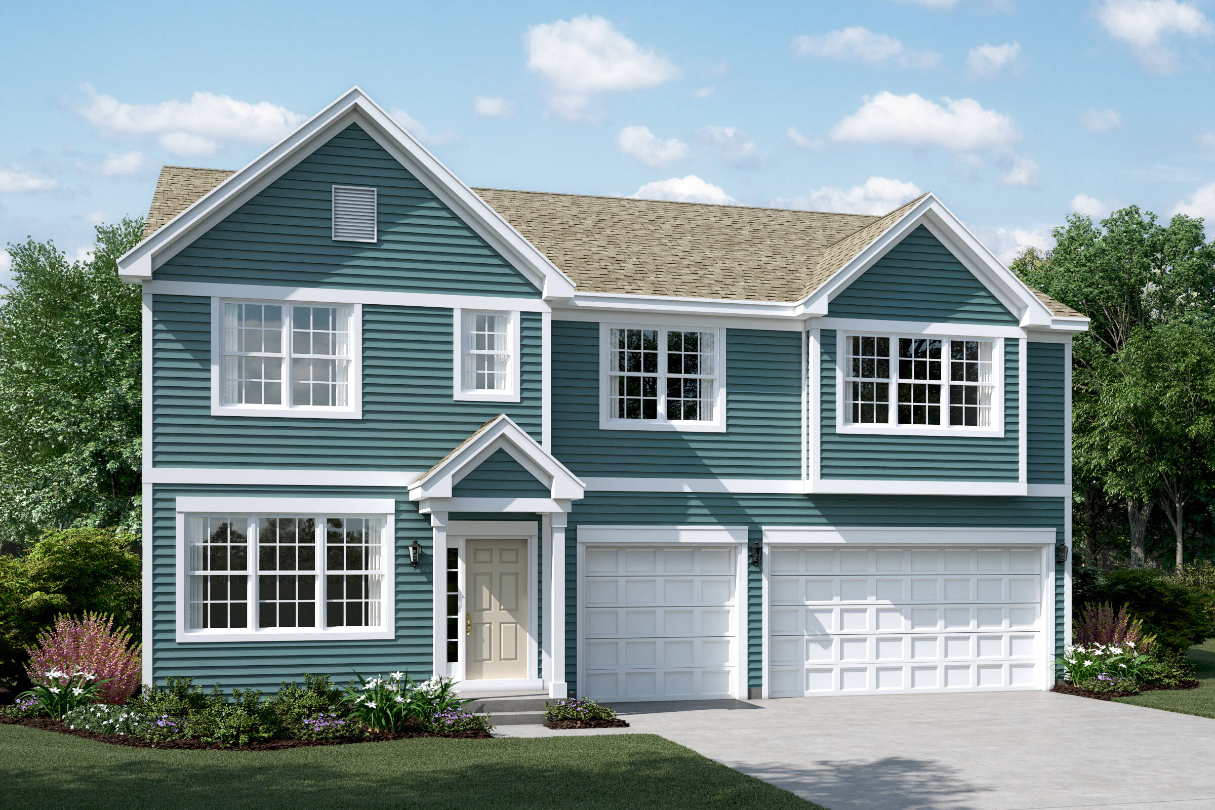 yorkshire f sagebrook single family homes in south elgin
