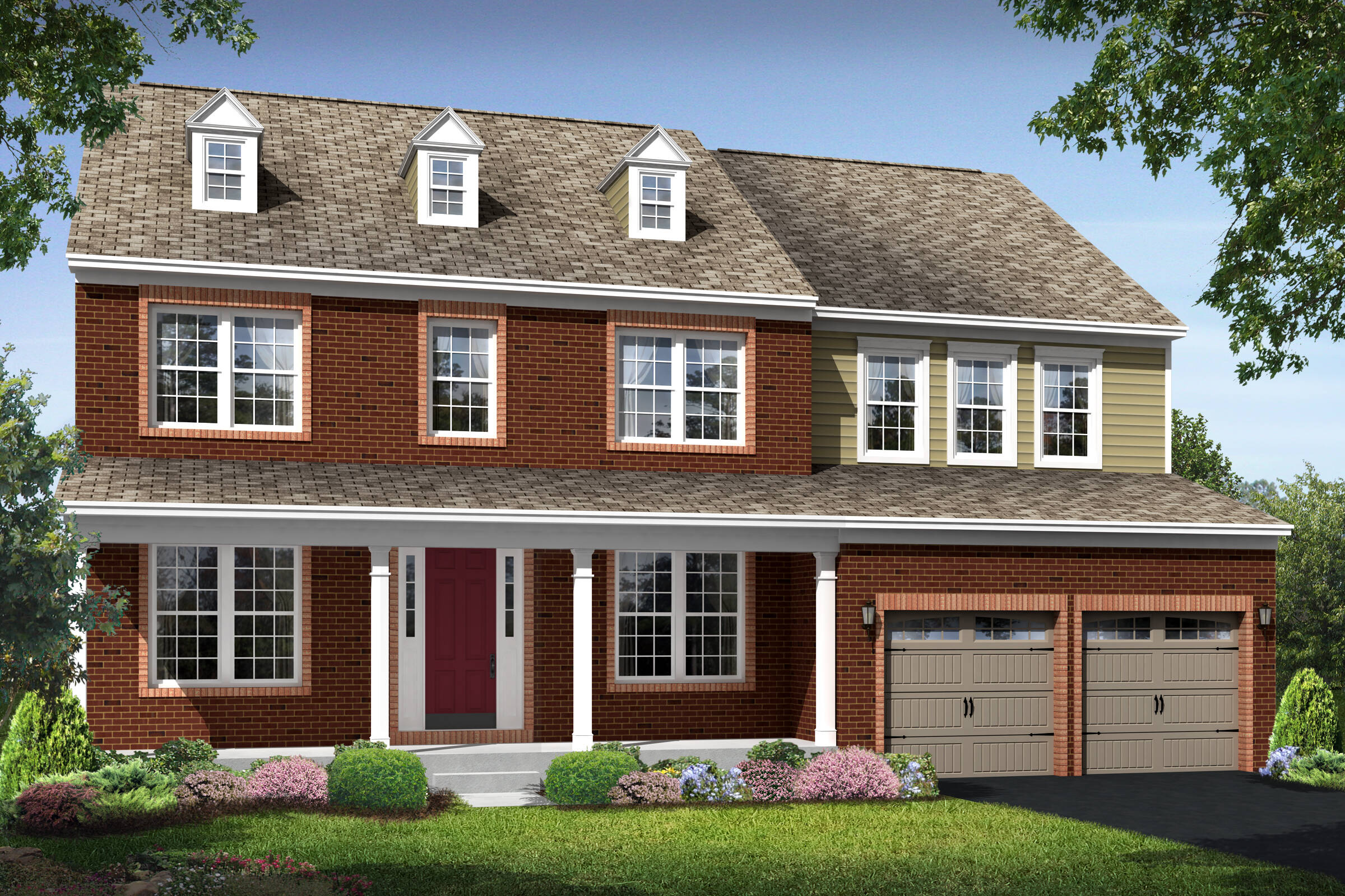 dover gb new homes at ashers farm in maryland