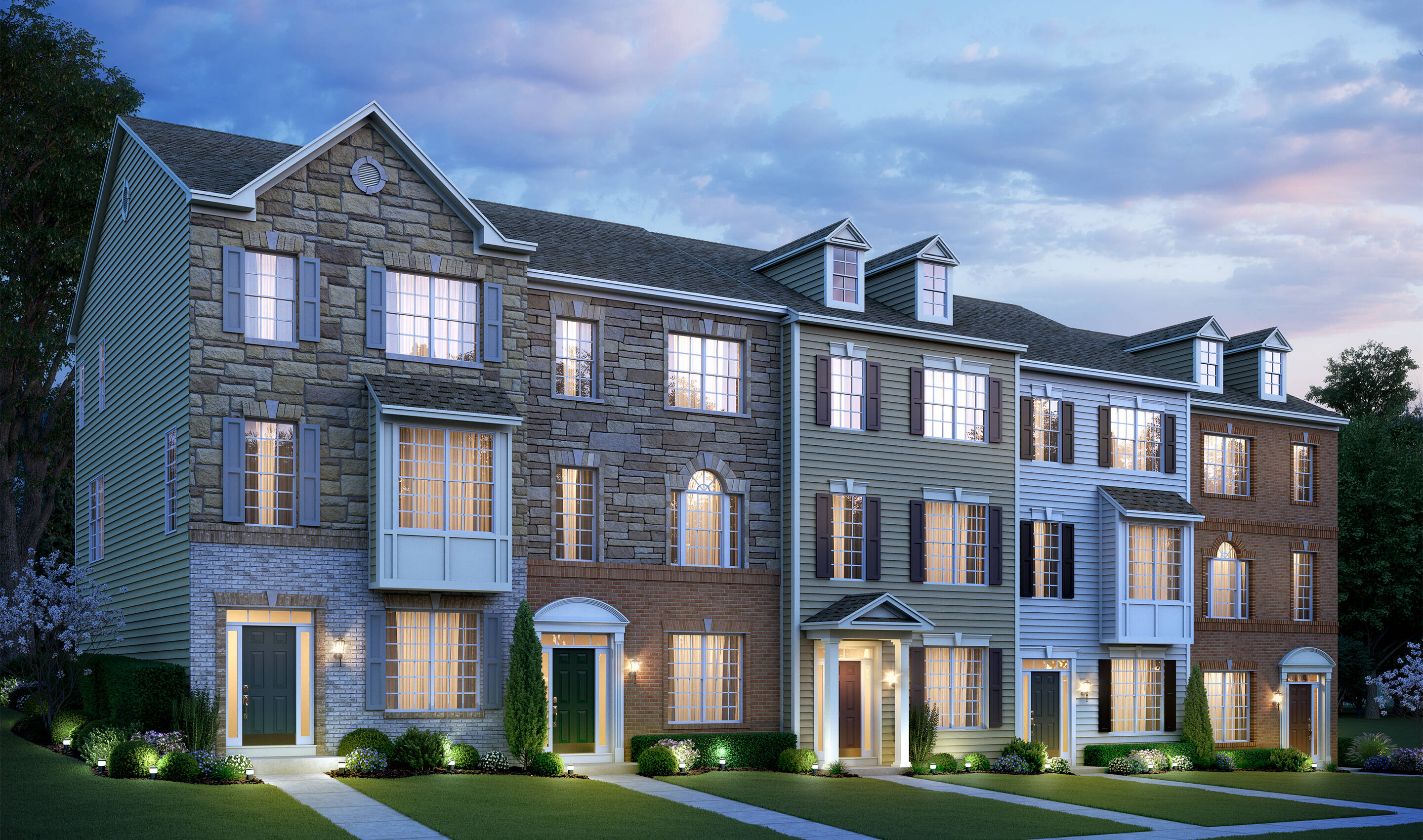 pierce III 5 th new homes at kensington overlook in maryland