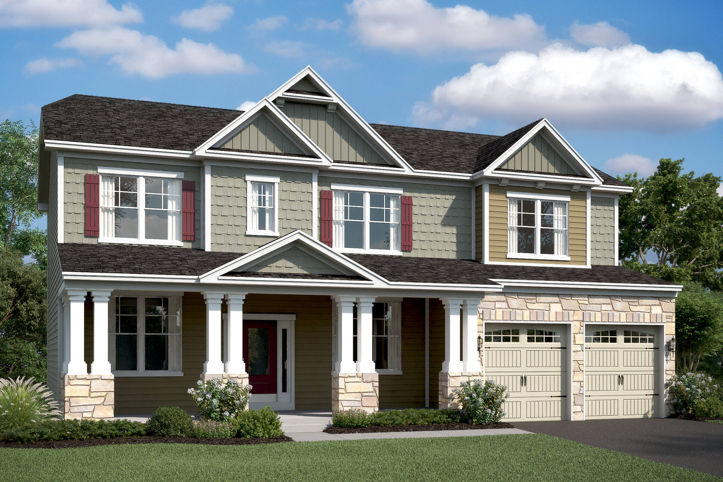 delaware c new homes at magness farms in maryland