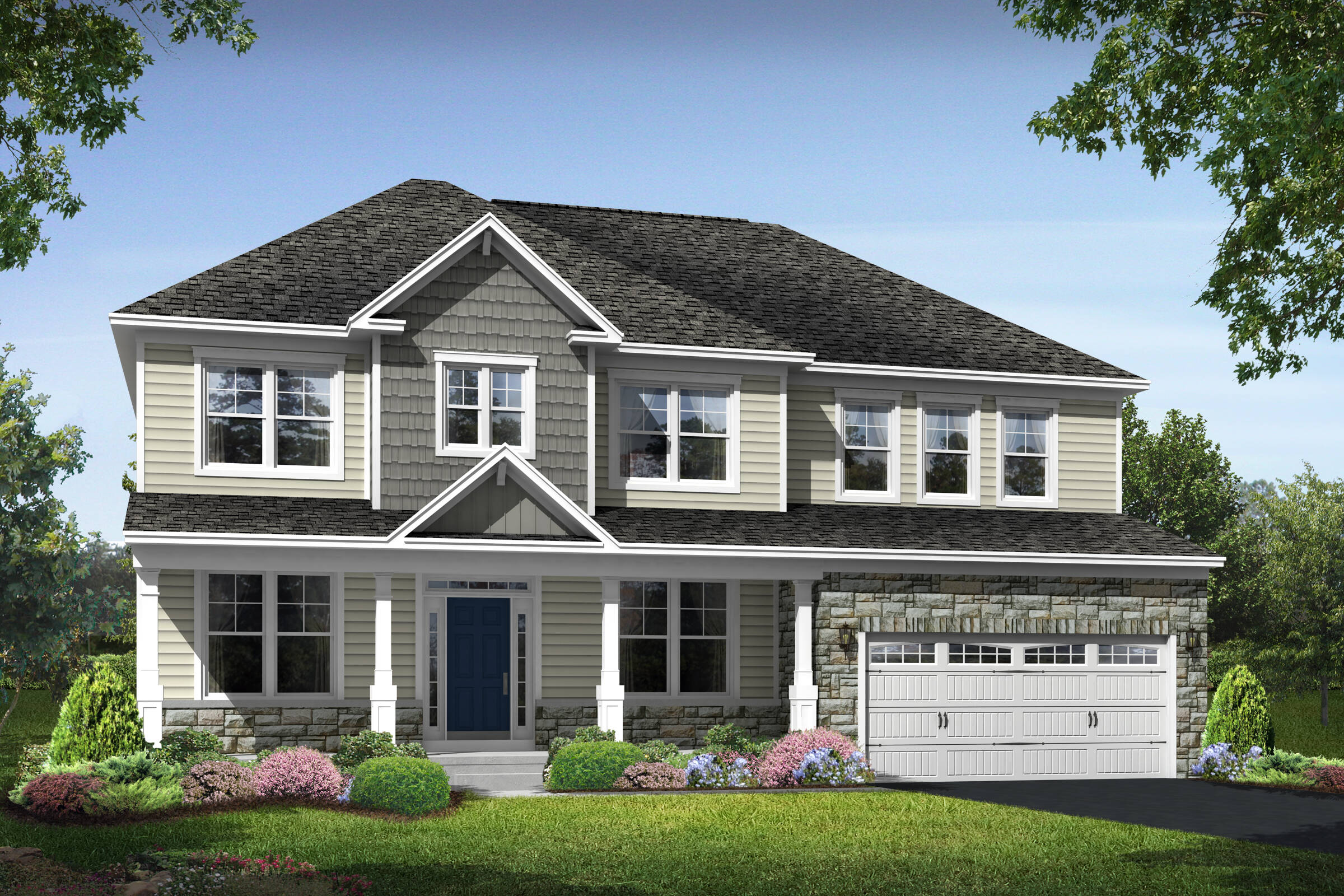 dover f new homes at magness farm in maryland
