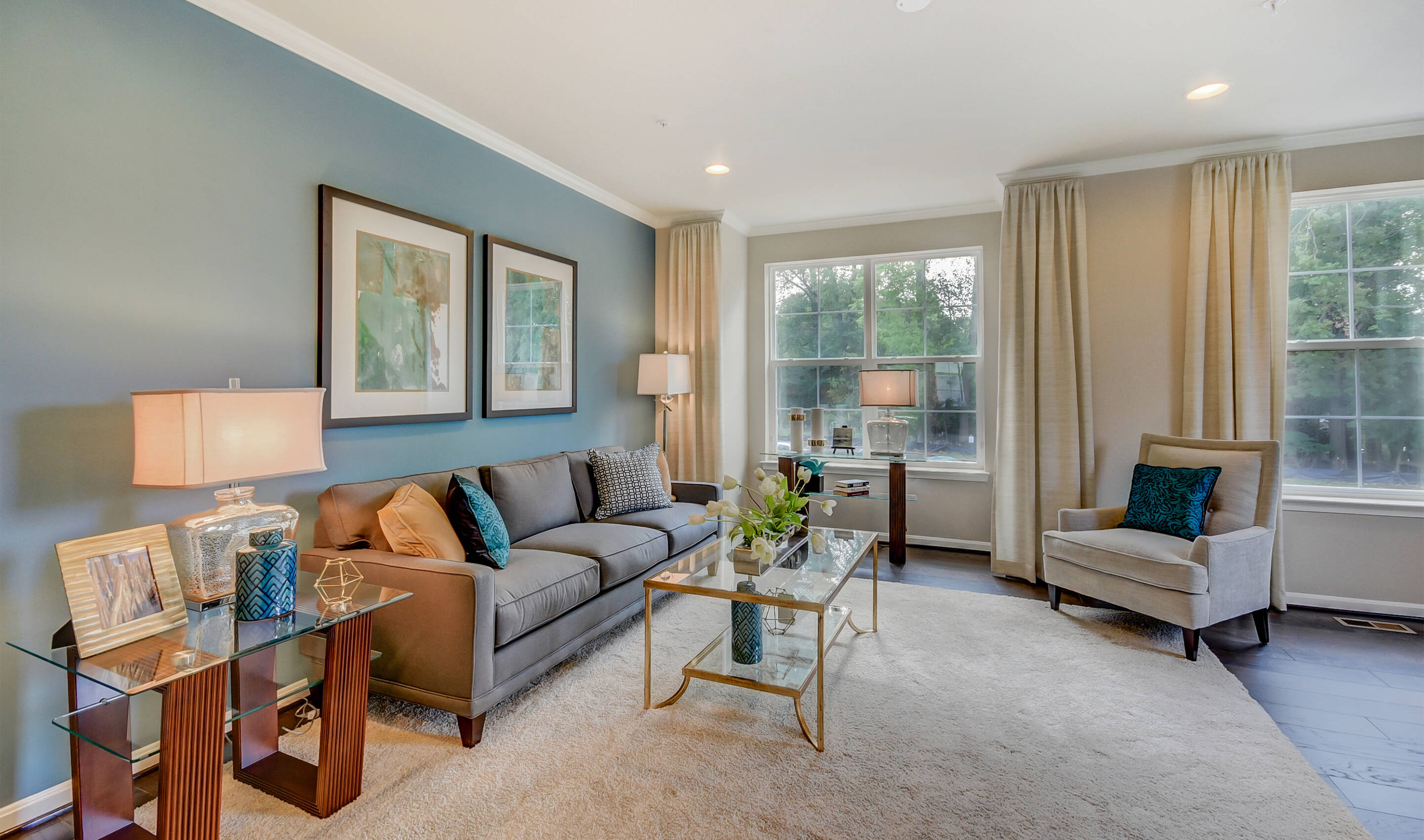 Kensington Overlook - Pierce III - Family Room-1