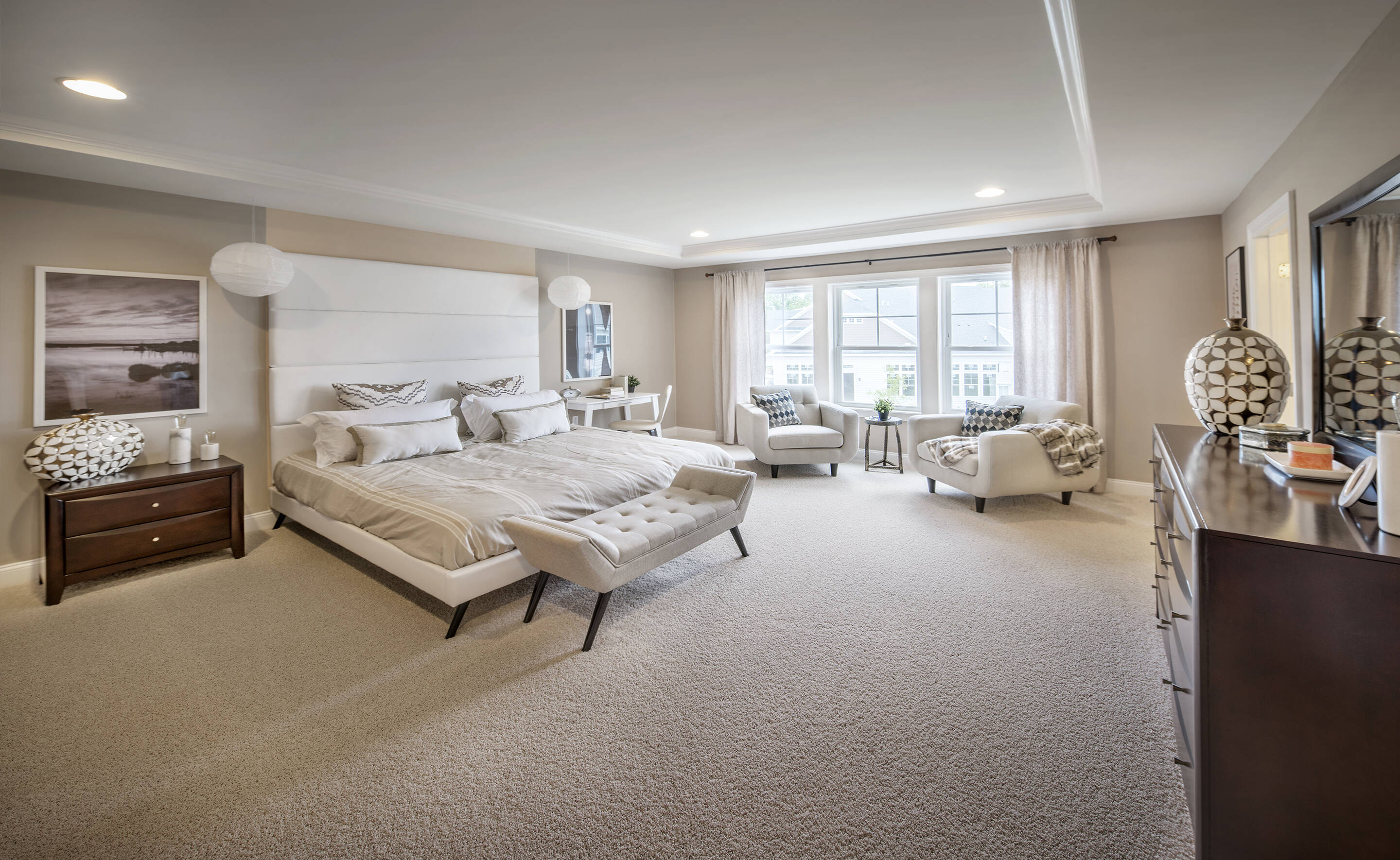 Four Ponds Lincroft NJ New Homes Haverford Owner Suite