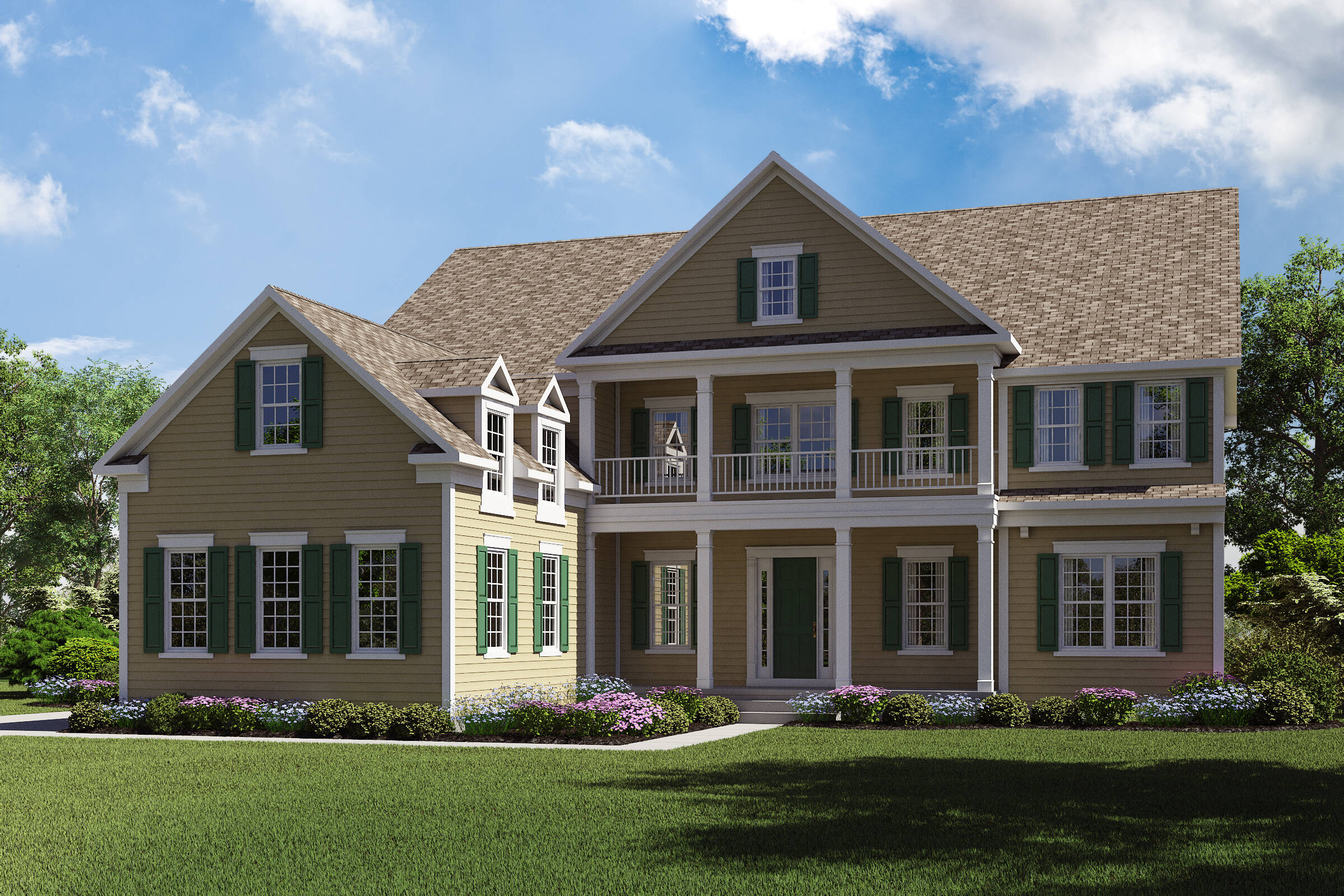 Monaco-HS-SL-elev new homes in new jersey
