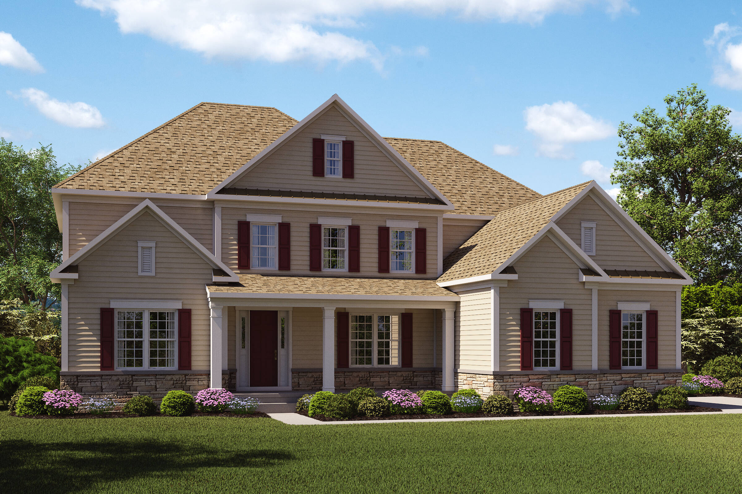 Monet-H-Stone Watertable New Homes Middletown NJ