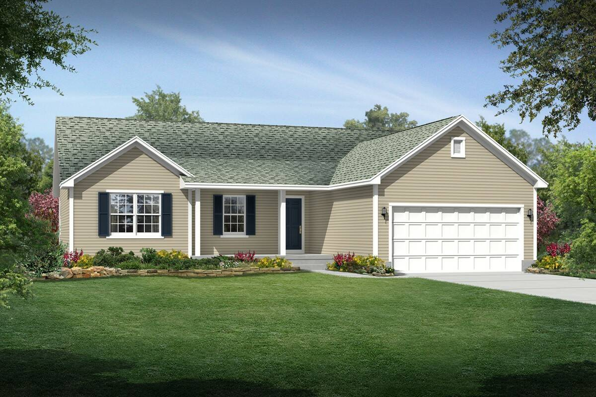 Build On Your Lot Home Designs Danielle