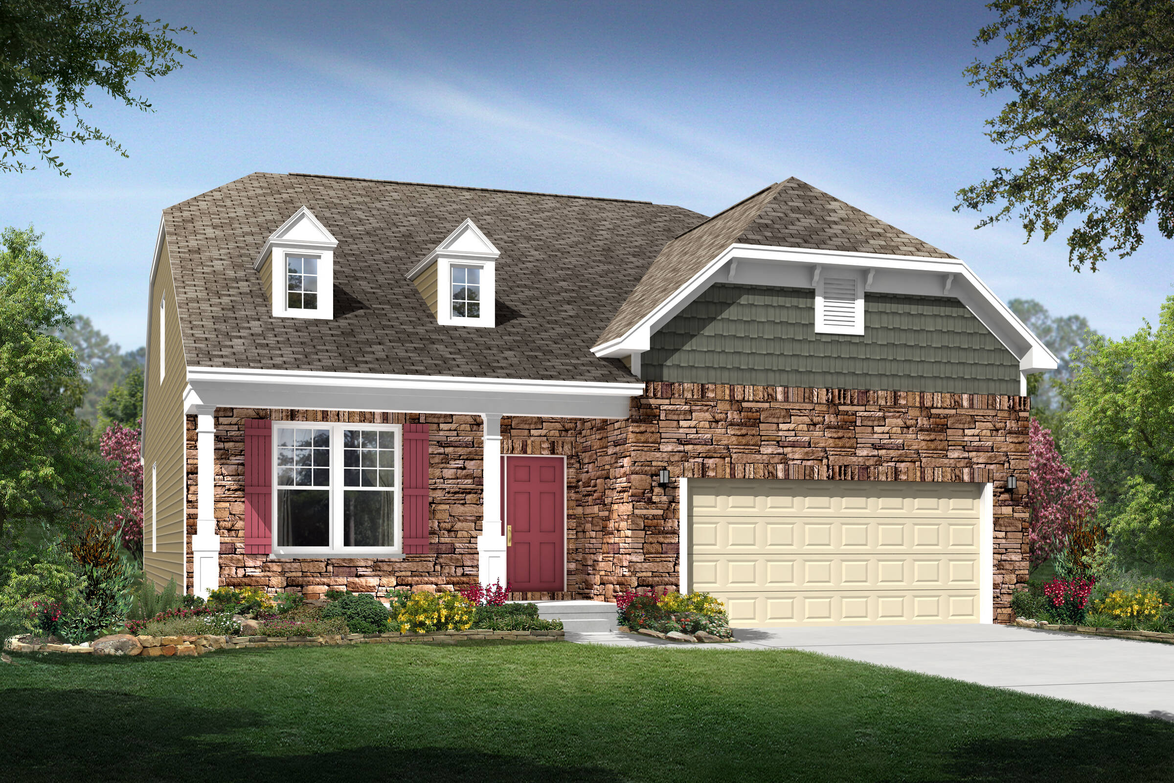 brookline f stone new homes northeast ohio