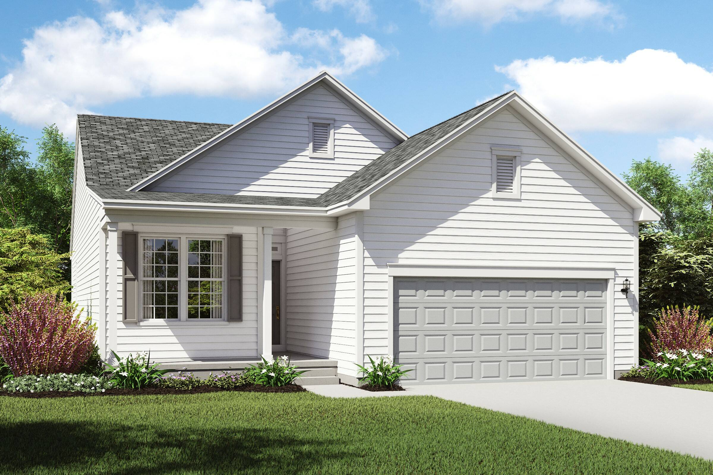 new homes design.  Edgebrook New Homes in Strongsville OH