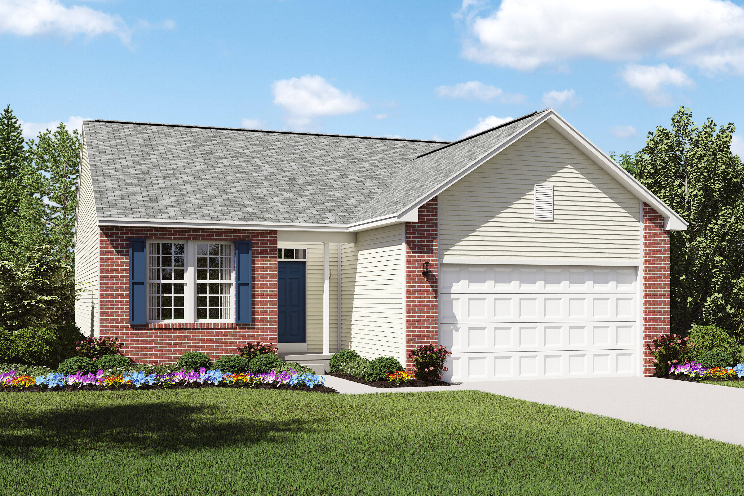 ... Ideal Home Design International Inc The Landings At Martin U0027s Run  New Homes In Lorain Oh ...