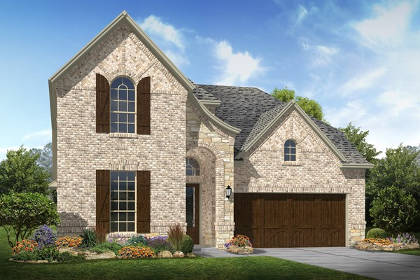 Mustang lakes belmont lyoncrest ii for New home source dfw