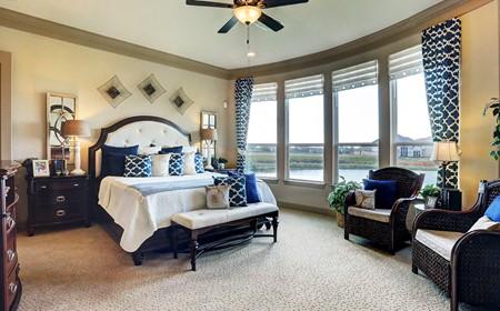 cypress bay new homes league city master bedroom