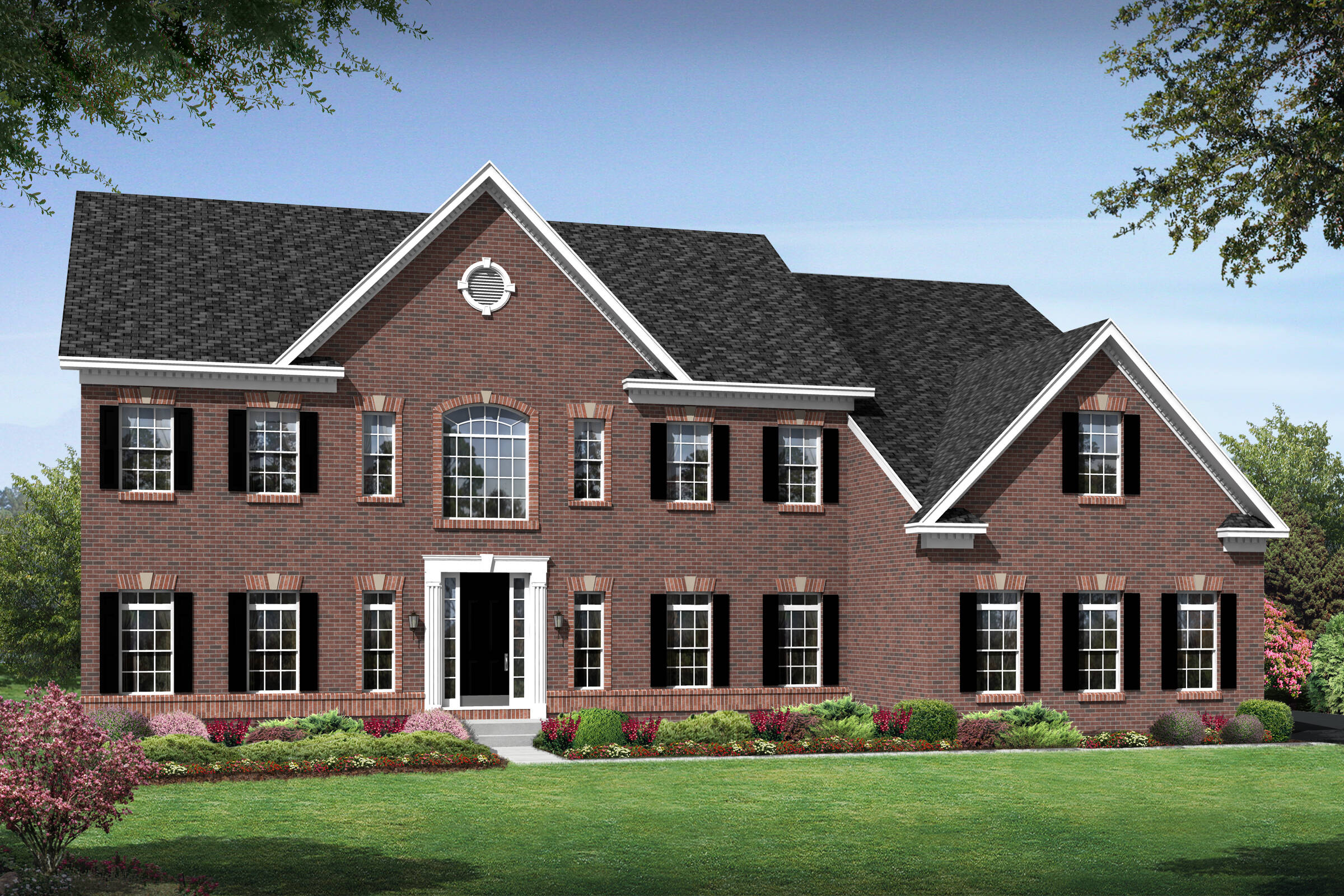 arlington a traditional new homes at crooked creek
