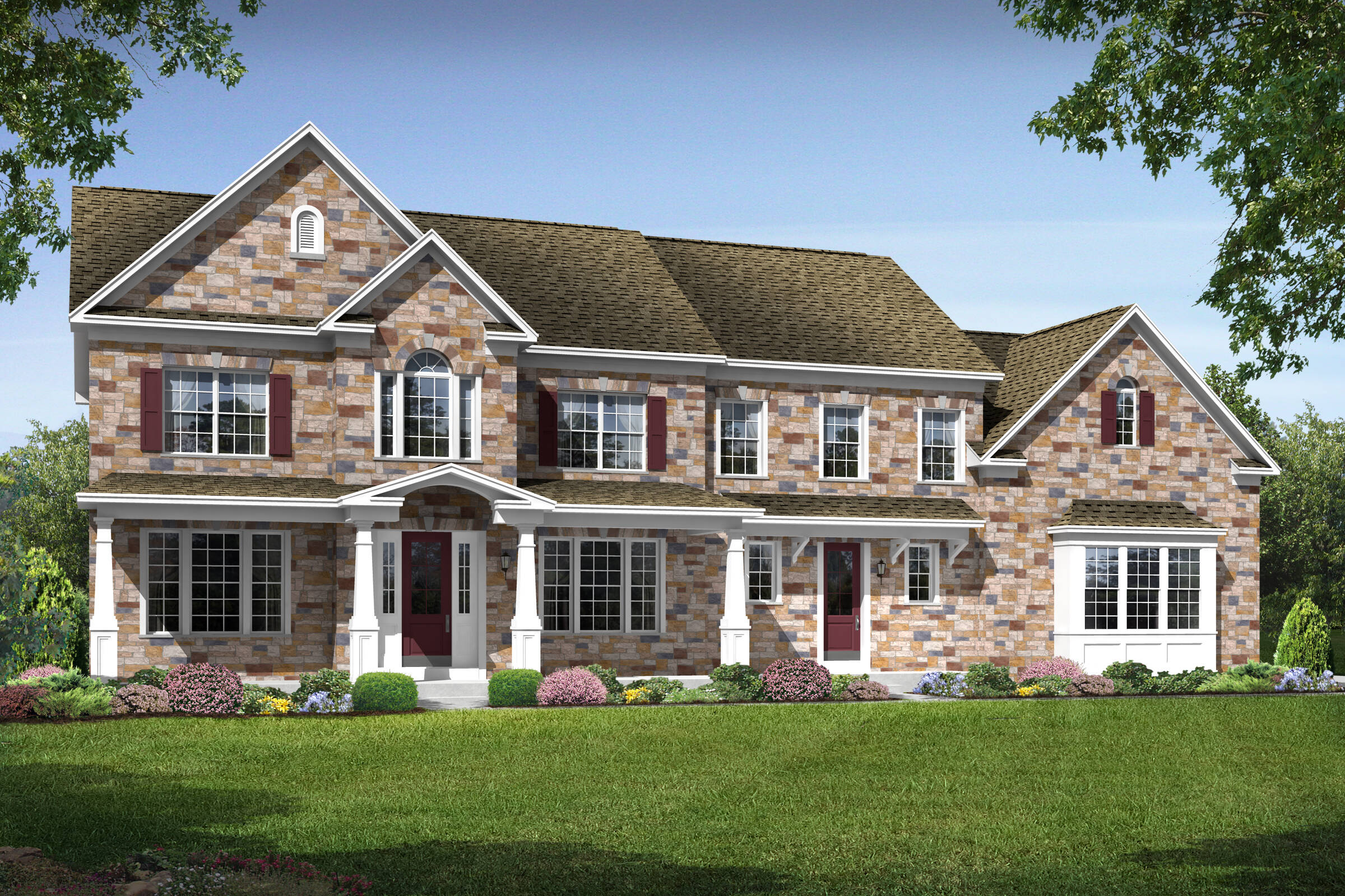rosewell h new homes at crooked creek
