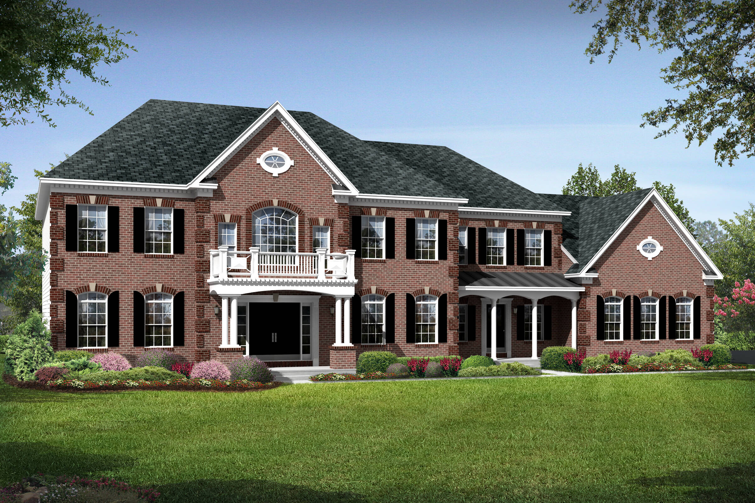 tara a traditional new homes at crooked creek