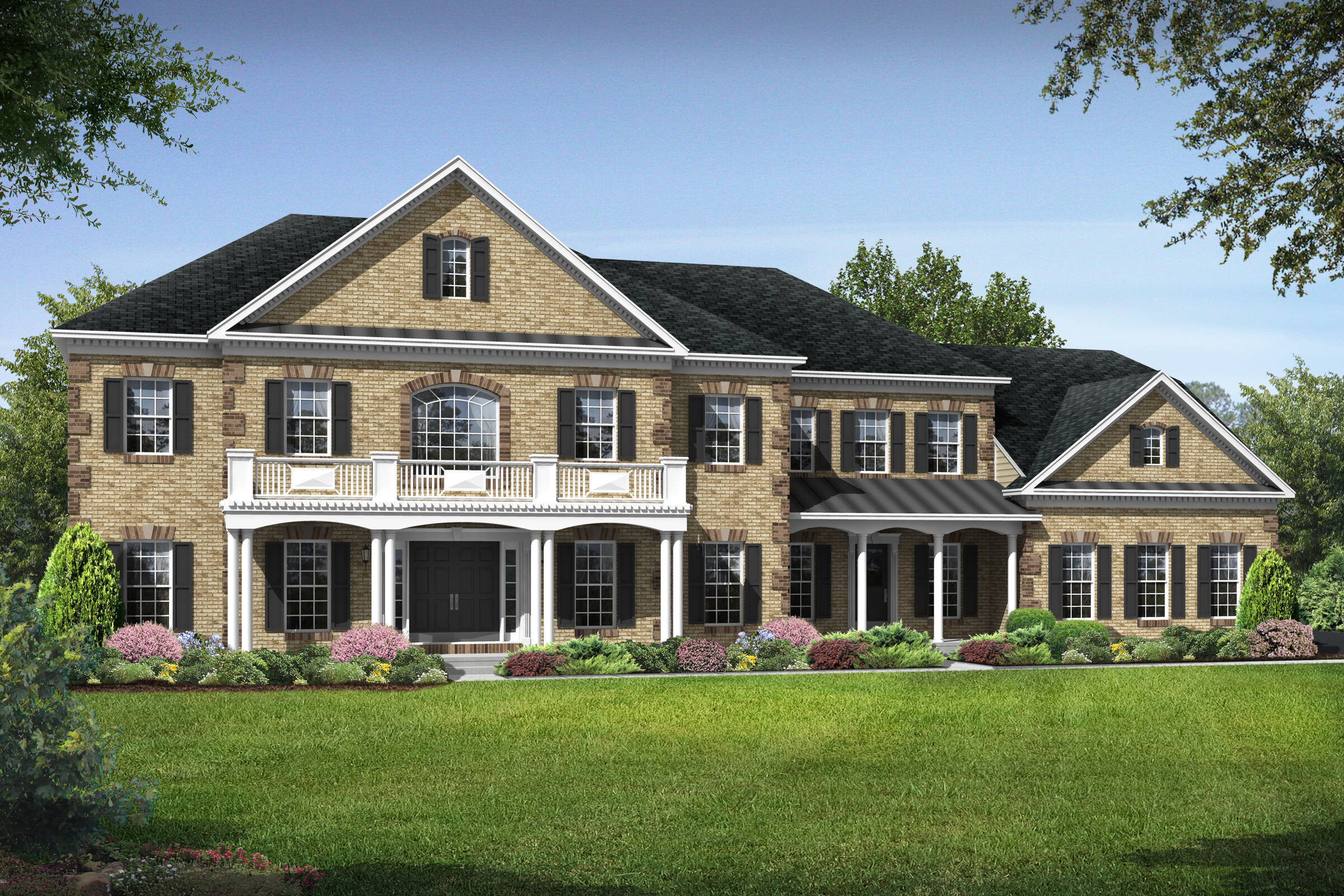 tara colonial new homes at crooked creek