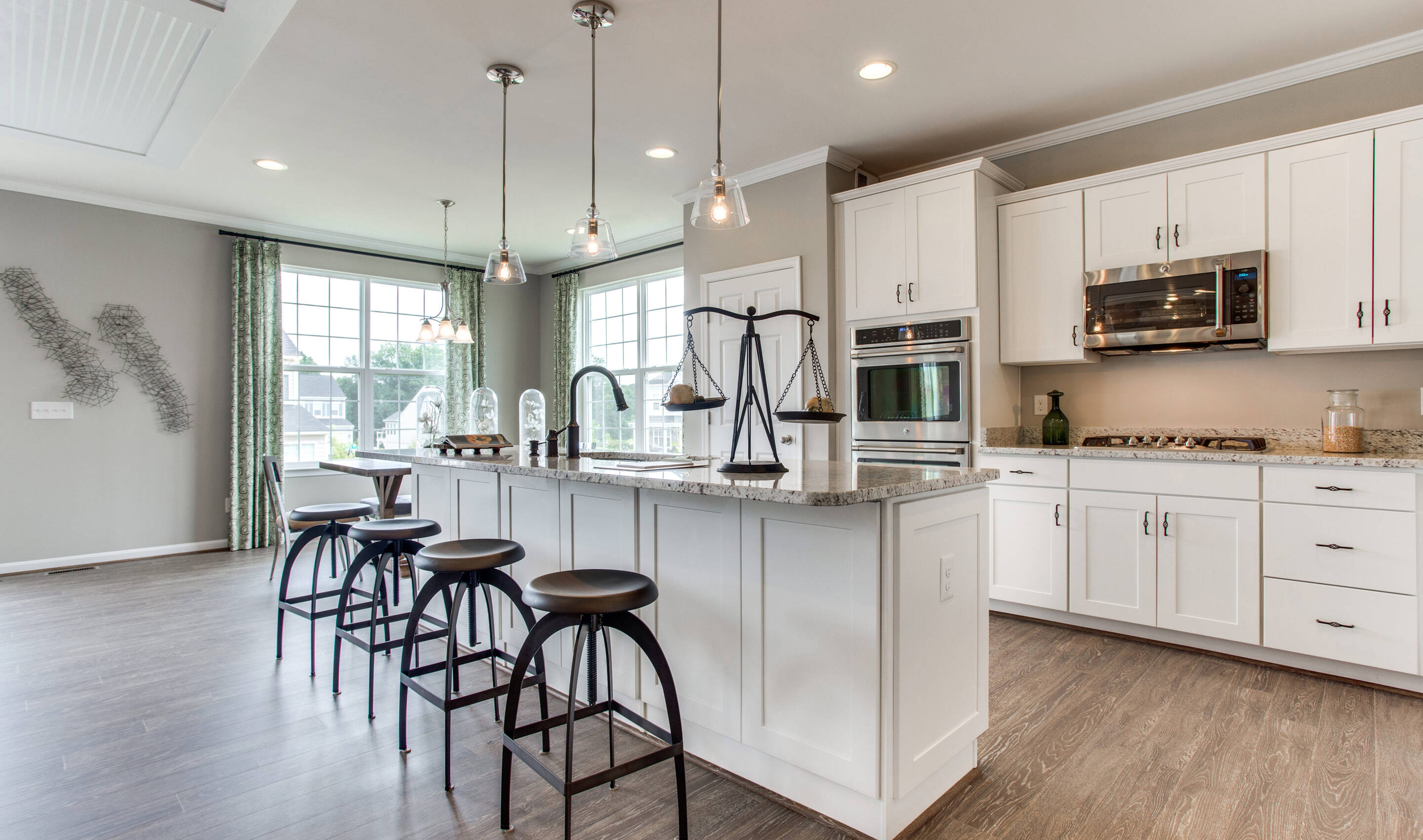 berry hill kitchen new homes at raymond farm