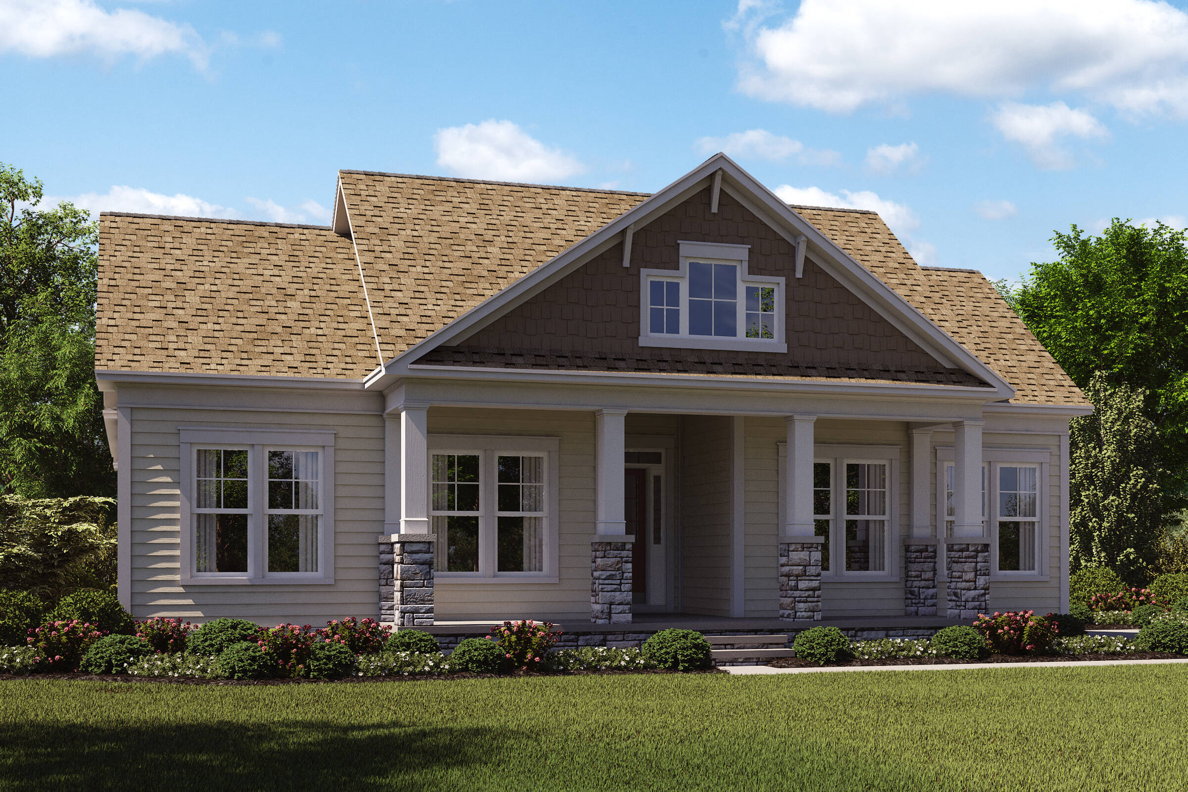 highbury d new homes at willowsford greens in virginia