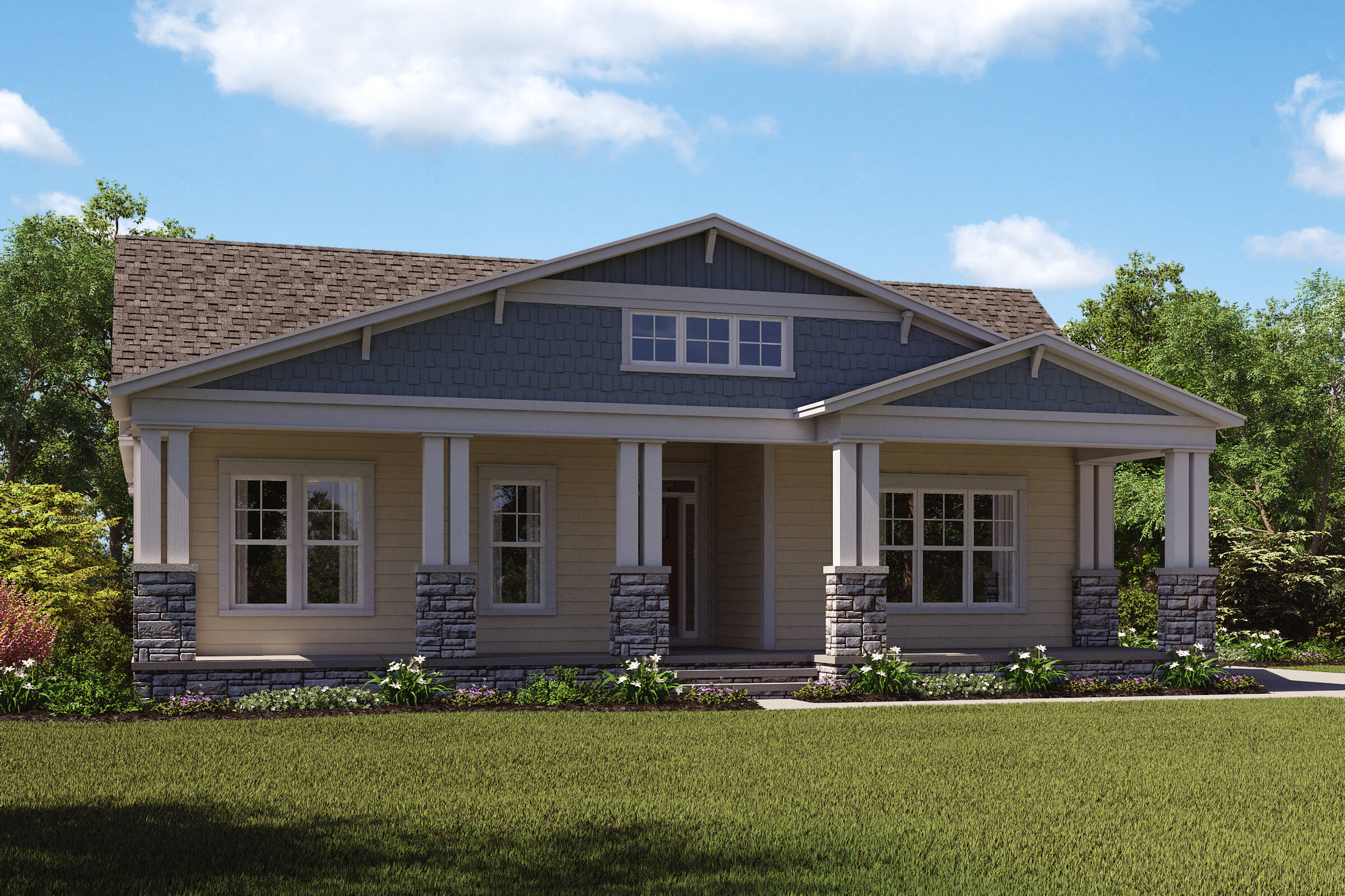 highbury f new homes at willowsford greens in virginia