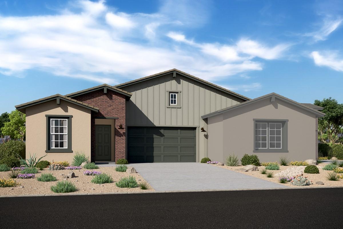 Cima 3806 w Apex 3805 – Elevation F – Desert Modern Ranch