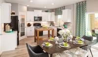 gardenia dining kitchen new homes aspire at village center aspot