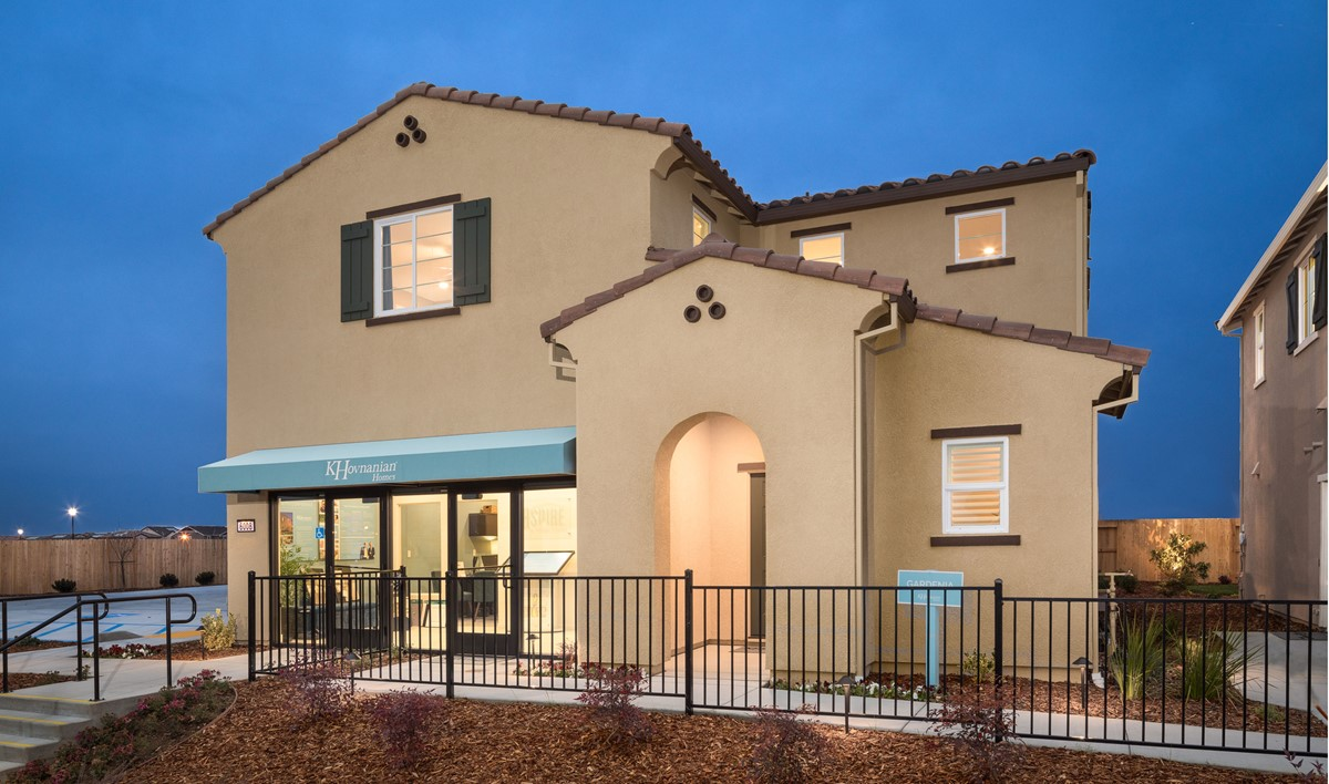 gardenia exterior new homes aspire at village center aspot
