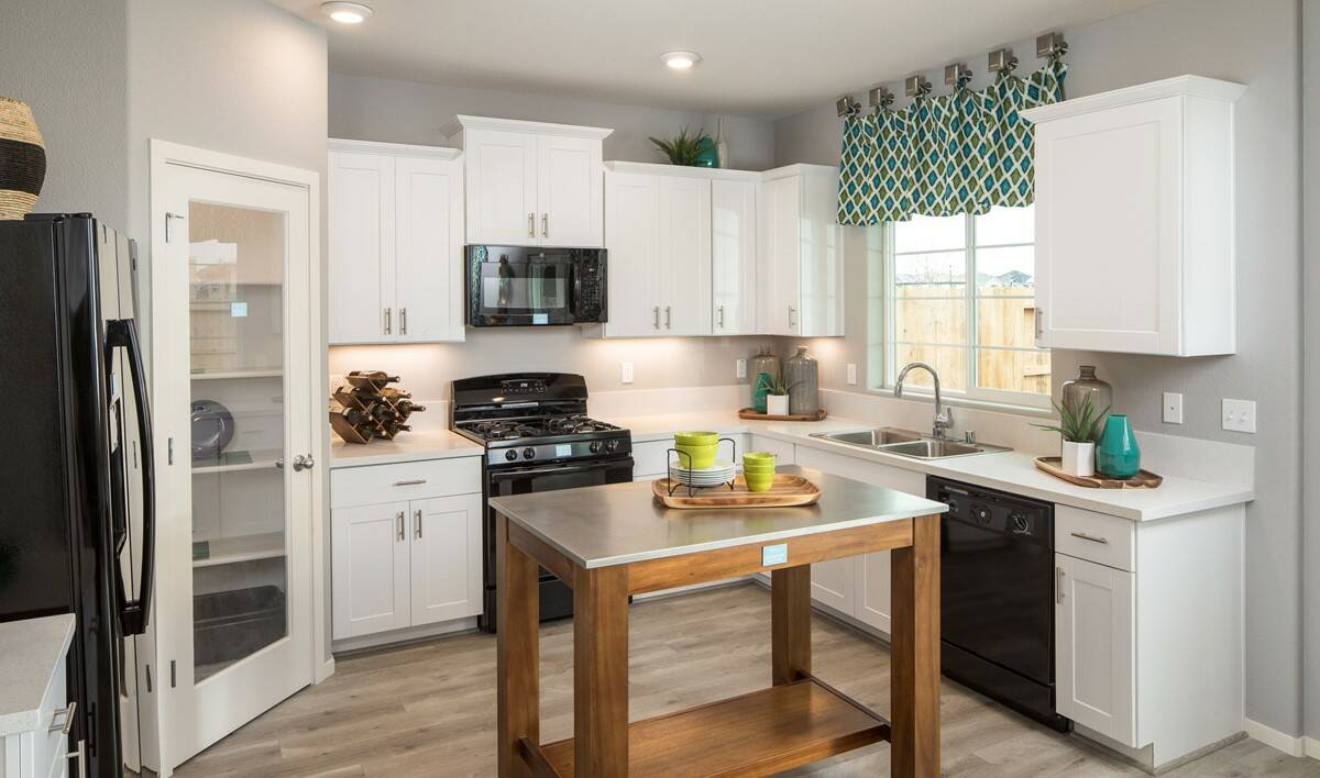 gardenia kitchen new homes aspire at village center aspot