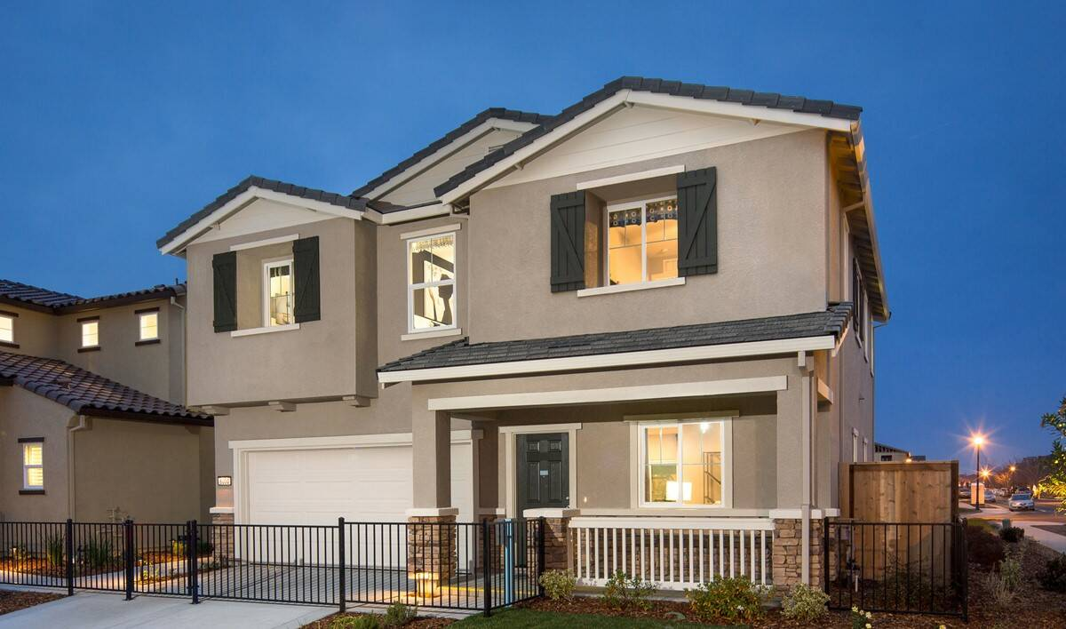 primrose exterior new homes aspire at village center aspot