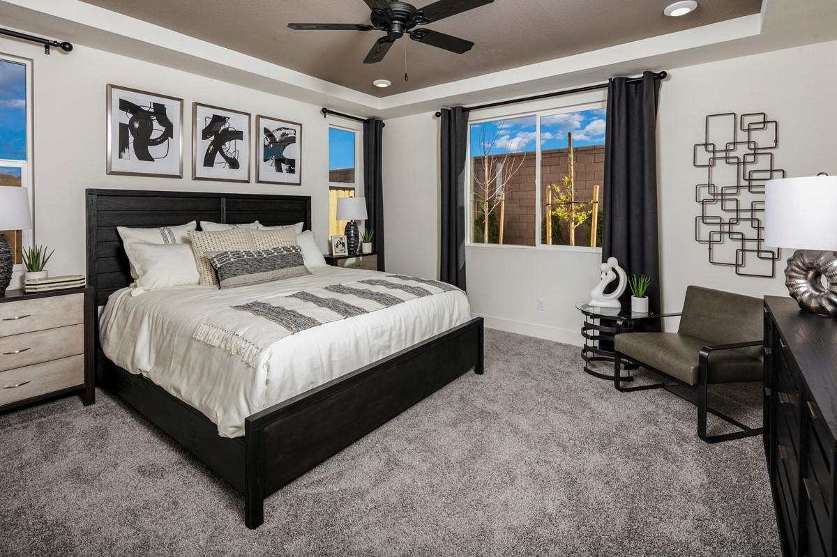 61505_Encantada at Vineyard Terrace_Evergreen_Evergreen Model Interior Of The Owner_s Bedroom