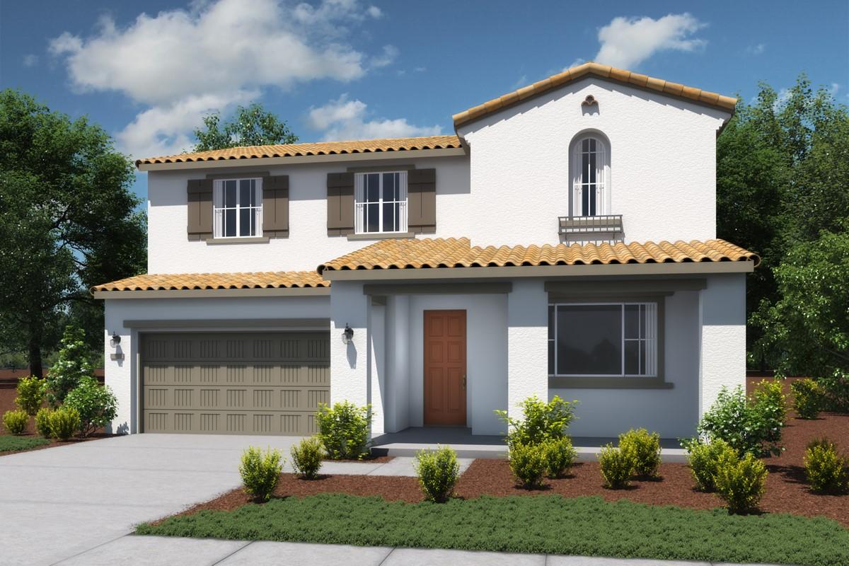 aspen-a-spanish-new homes vista bella at tesoro viejo-left-elev