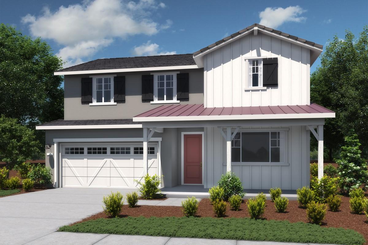 aspen-b-modern farmhouse-new homes vista bella at tesoro viejo-left-elev