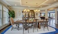 dining room in rhode island new homes at cedar lane