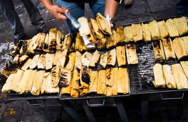 8 58637_Tamales on Grill GettyImages-82959272