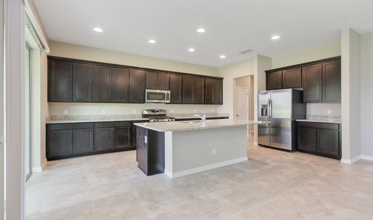 bessemer gourmet kitchen new homes orlando fl