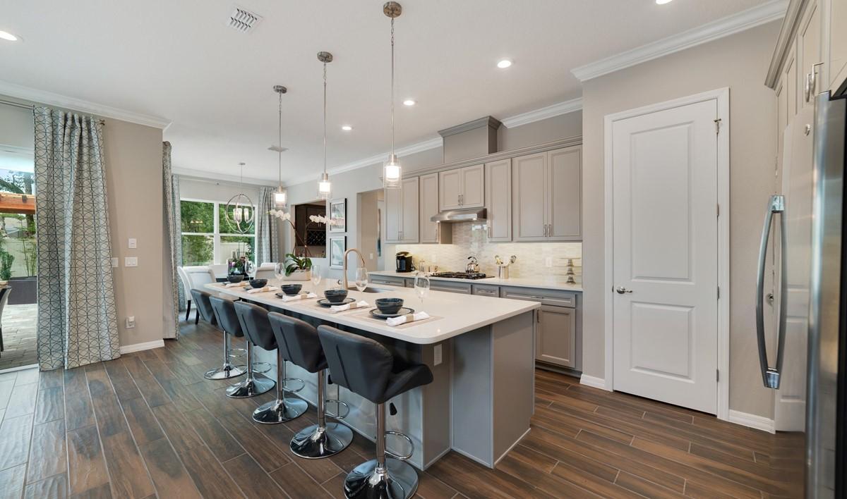 michelson kitchen dining new homes orlando florida