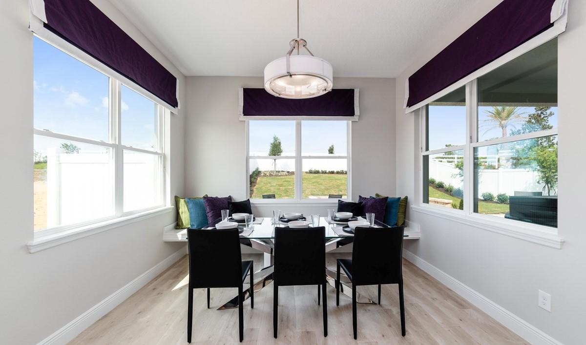 sanya dining area new homes orlando florida