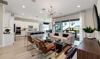 sanya great room kitchen new homes orlando florida