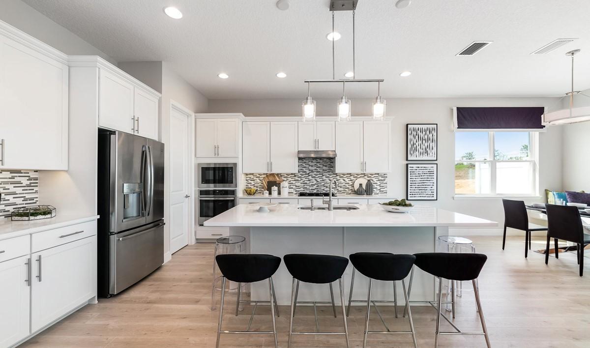 sanya kitchen2 new homes orlando florida
