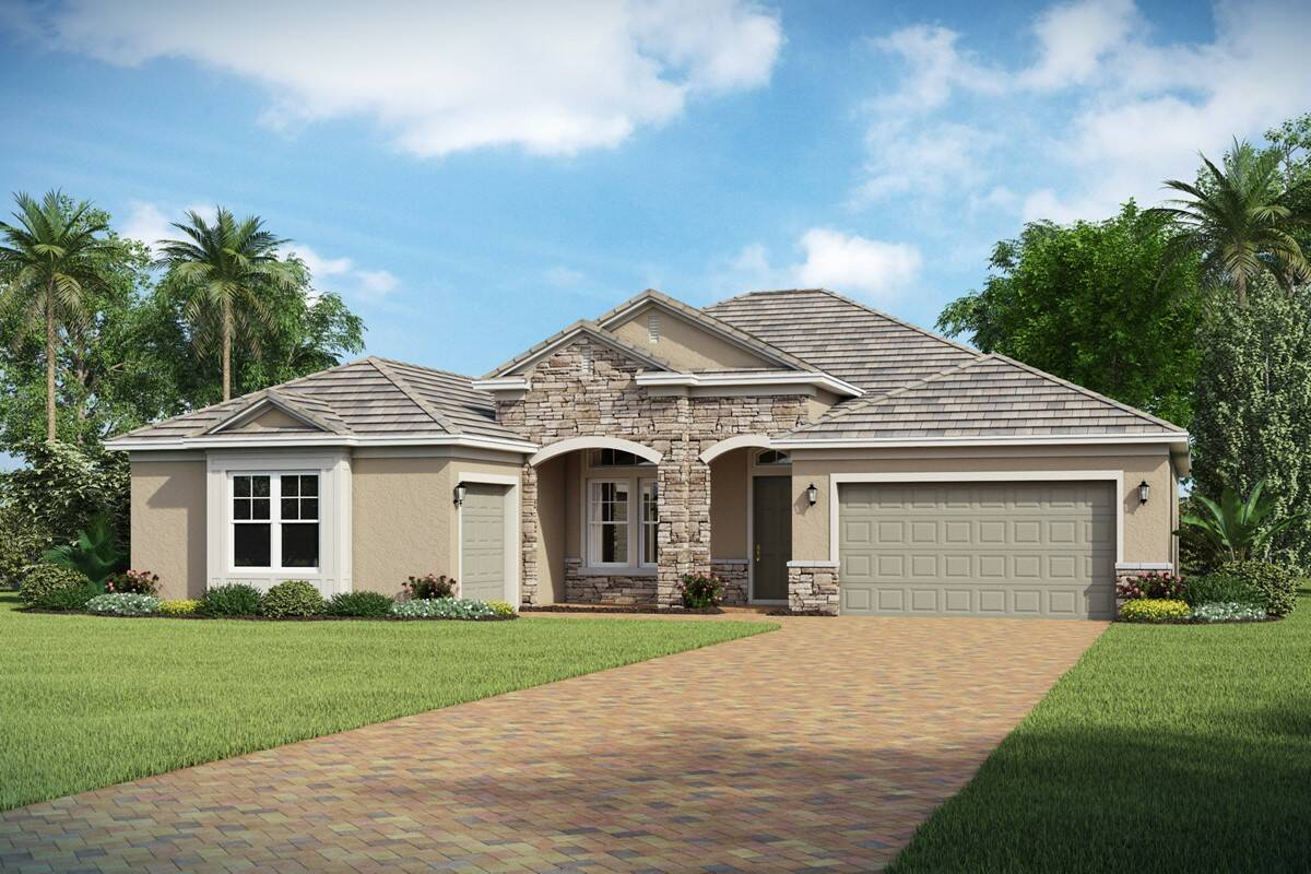 Athlone D highlands at summerlake new homes orlando