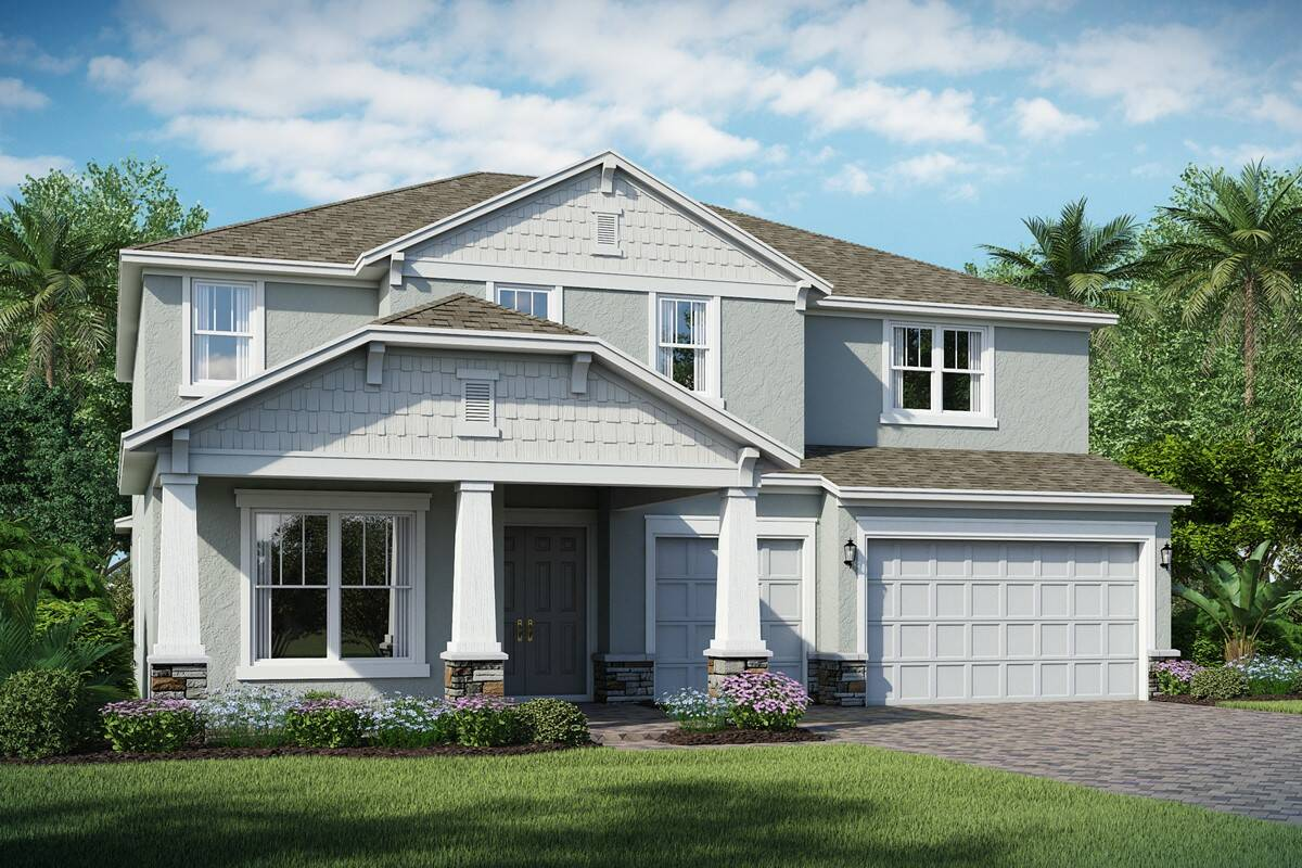 Rosada E highlands at summerlake new homes orlando