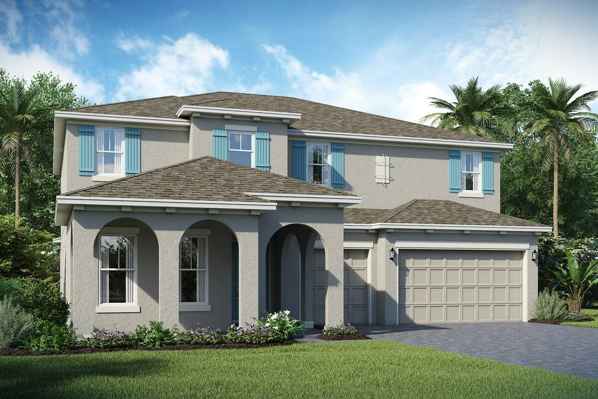 Rosada F highlands at summerlake new homes orlando
