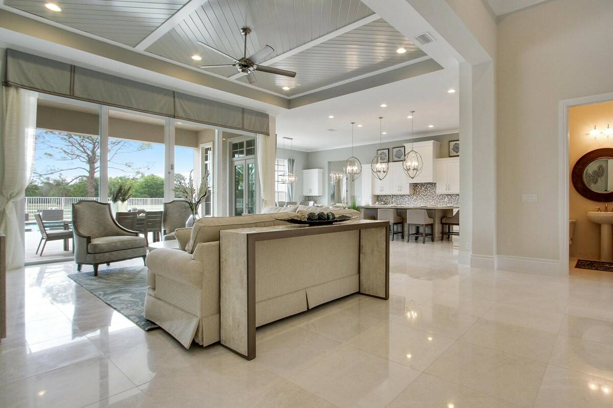 hawthorne foyer great room new homes in jupiter florida