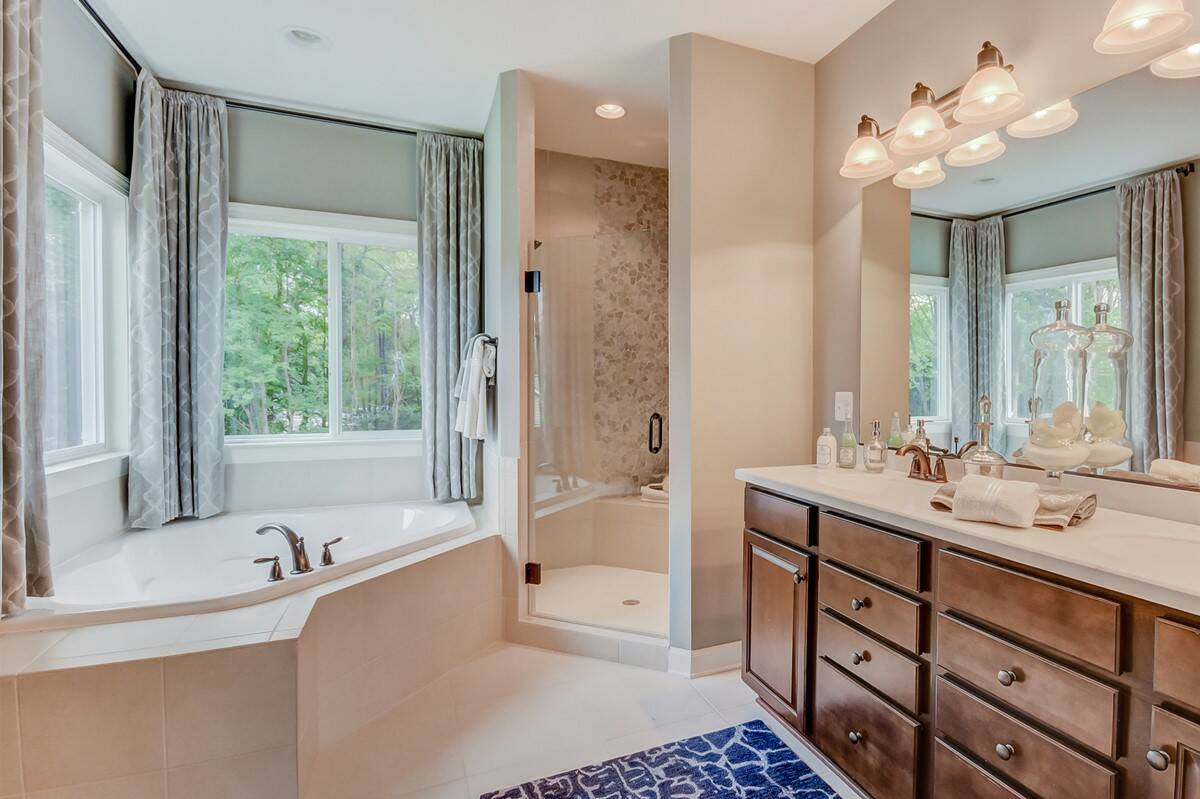 delaware owners bath new homes at ashers farm