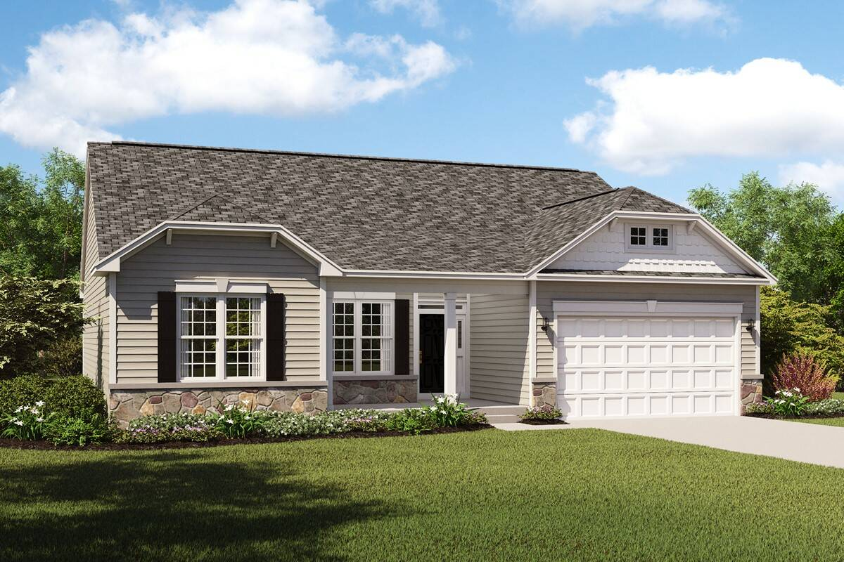 Cape Charles II-FT new homes in ohio